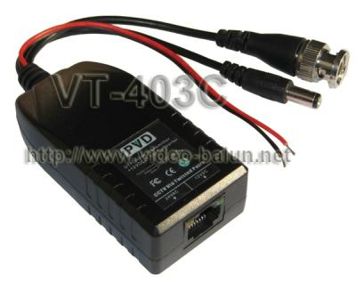 AC24V To DC12V Converter | Power,Video,Data Balun | VT-403C